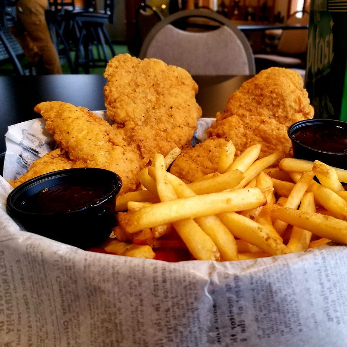 Lunch - Chicken Tenders & Fries